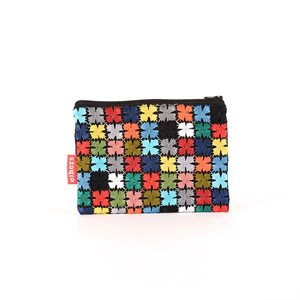 COIN PURSE MULTICOLORED LARGE