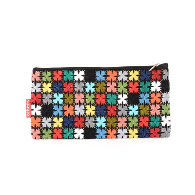 Large Multicolored Coin Purse