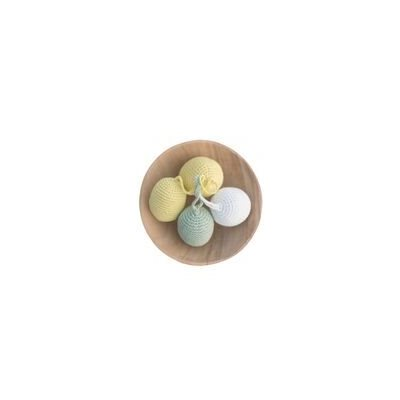 Crocheted Easter eggs (single/assorted colors) Bangladesh